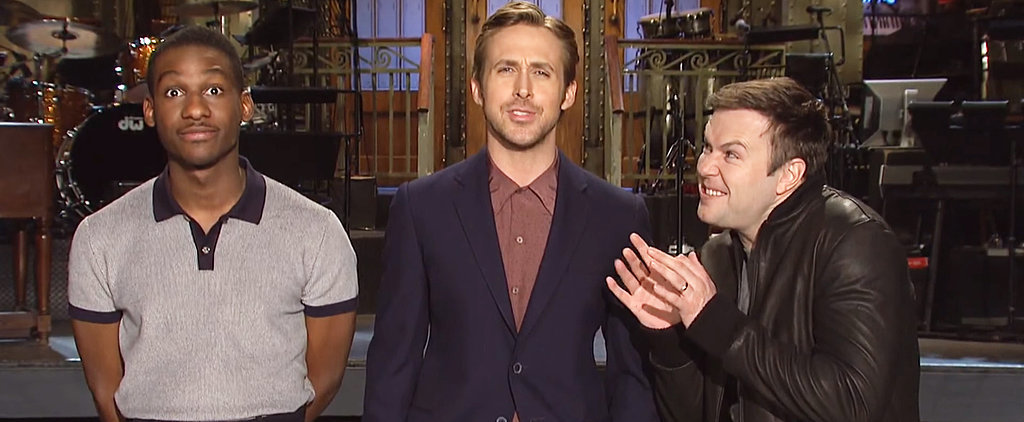 Here's a Sexy Sneak Peek at Ryan Gosling as the Host of Saturday Night Live