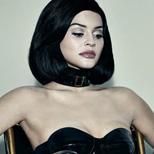 Kylie Jenner in a Wheelchair Photo