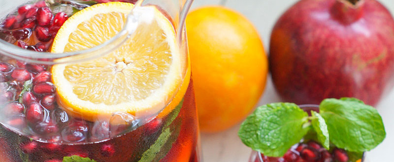 A Pomegranate Sangria Recipe That'll Get Anyone in the Holiday Spirit