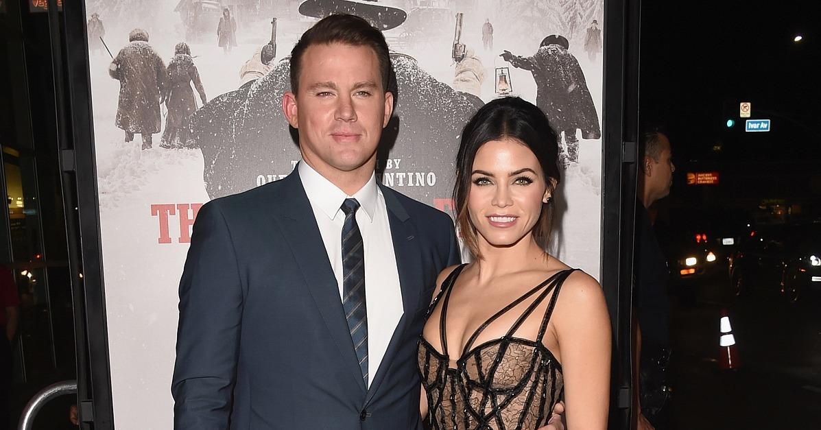 Channing Tatum At The Hateful Eight LA Premiere