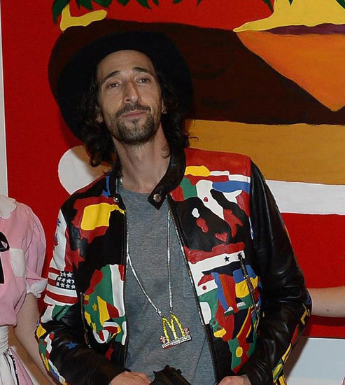 Adrien Brody at Art Basel in Miami