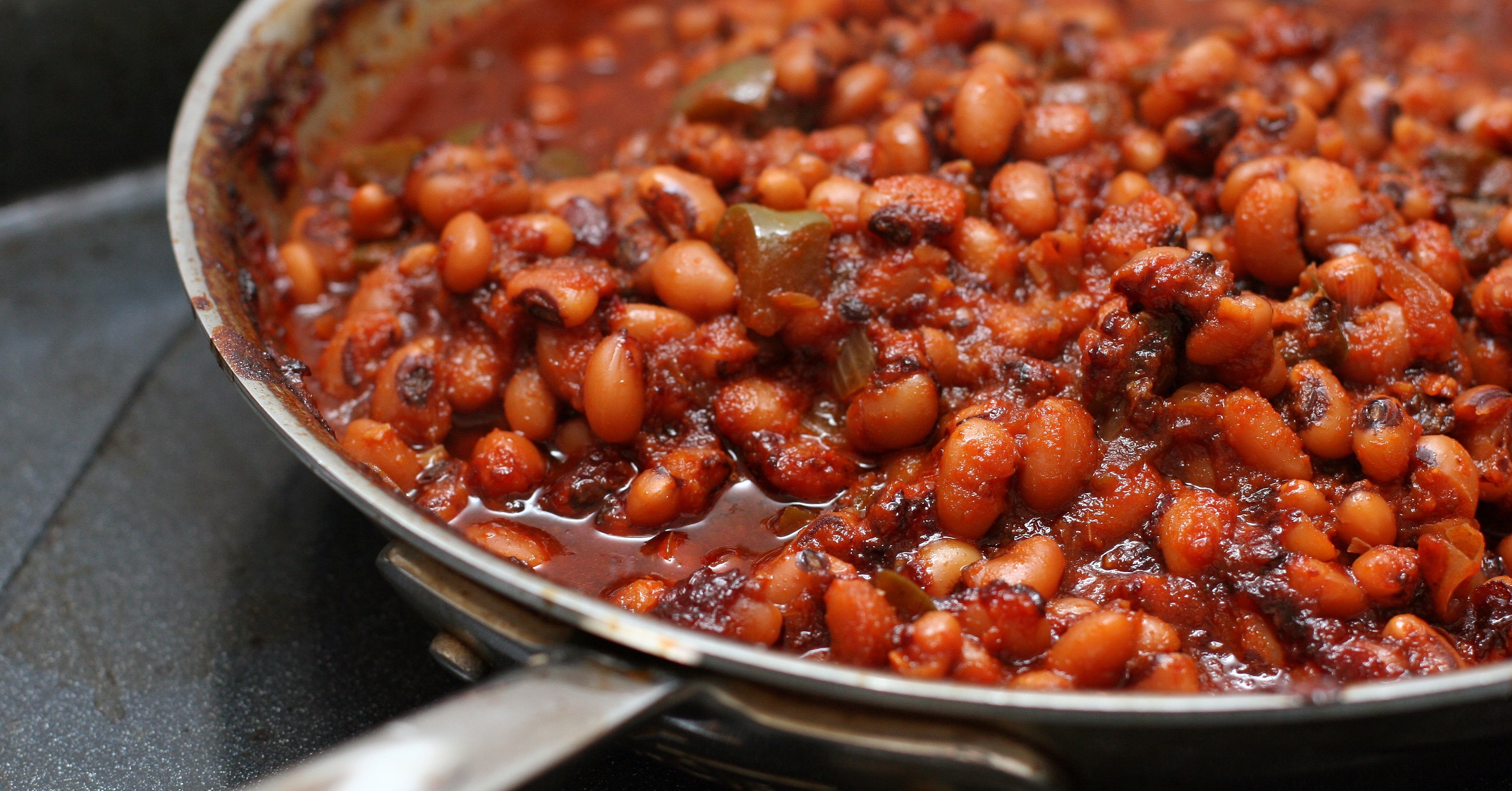 Barbecued Black-Eyed Peas | POPSUGAR Food