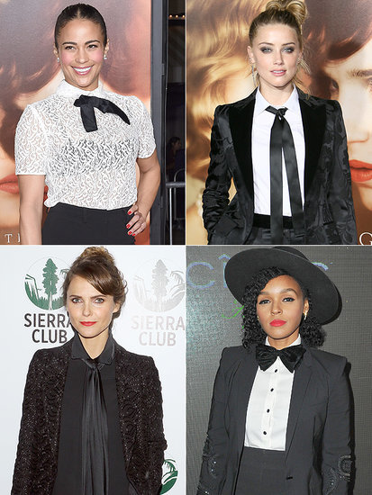 Your Holiday Party Style Dare: A Suit and Tie (These Celebs Did!)