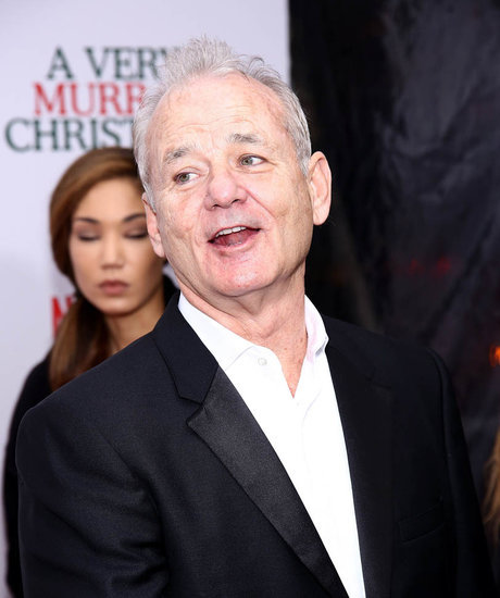 Bill Murray and Miley Cyrus in A Very Murray Christmas review