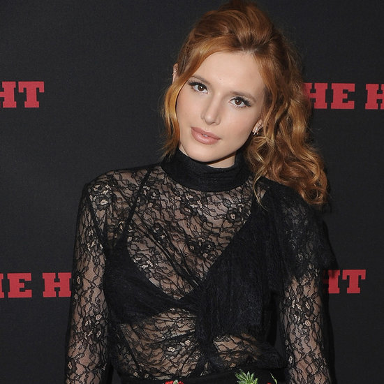 Bella Thorne on The Hateful Eight Red Carpet