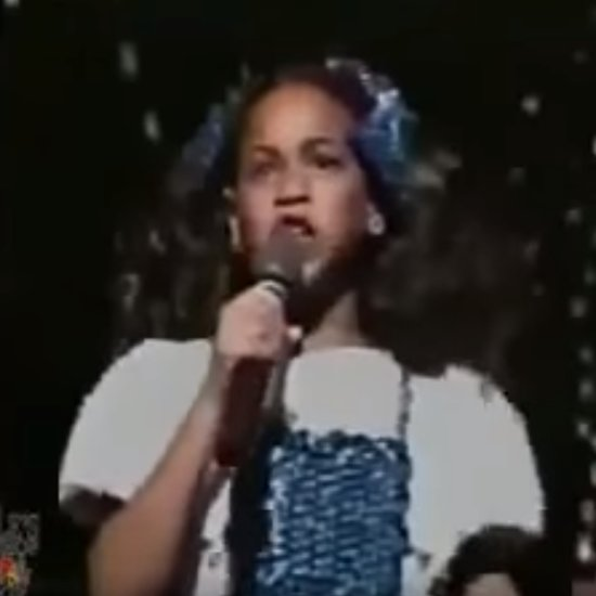 "Young Beyonce Singing ""Home"" From The Wiz Video"