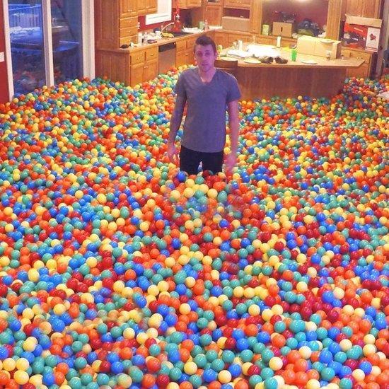 Plastic Ball Prank Video