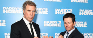 Mark Wahlberg and Will Ferrell Get a Few Punches In on the Daddy's Home Red Carpet