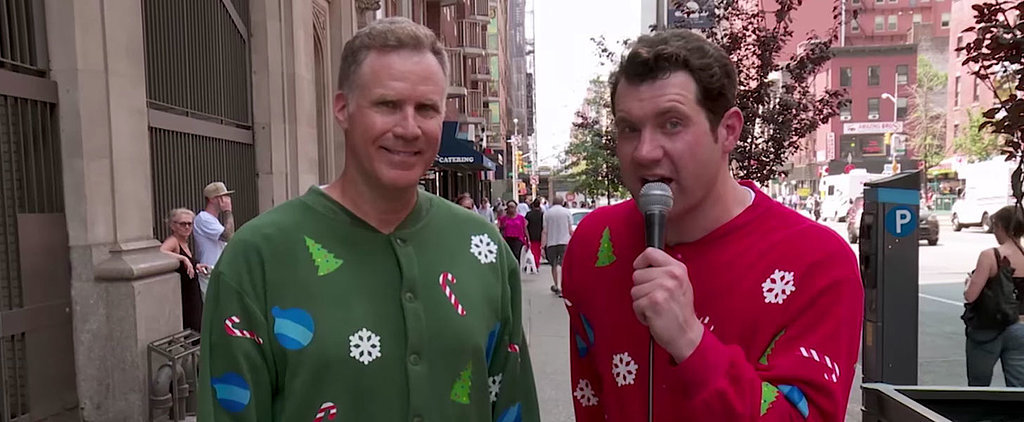 Watch Will Ferrell Scream About Elf on the Streets of New York With Billy Eichner