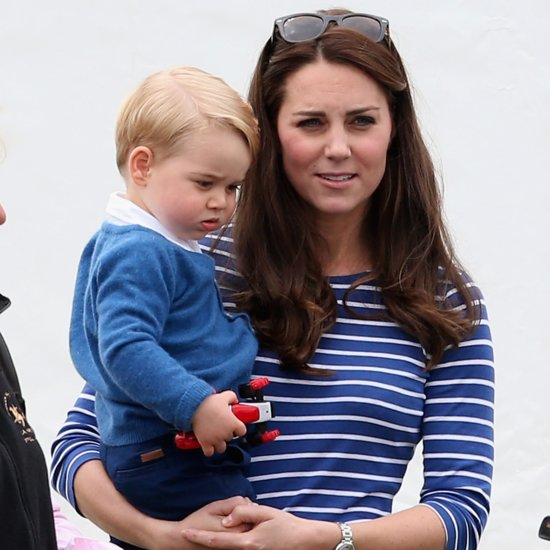 Prince George Helping Kate Middleton Decorate For Holidays