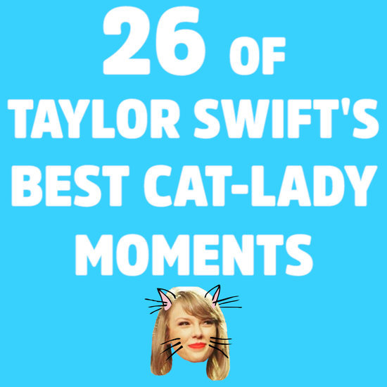 Taylor Swift and Her Cats