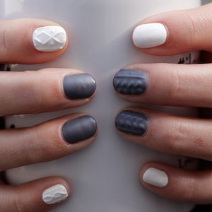 Sweater Nails Tutorial