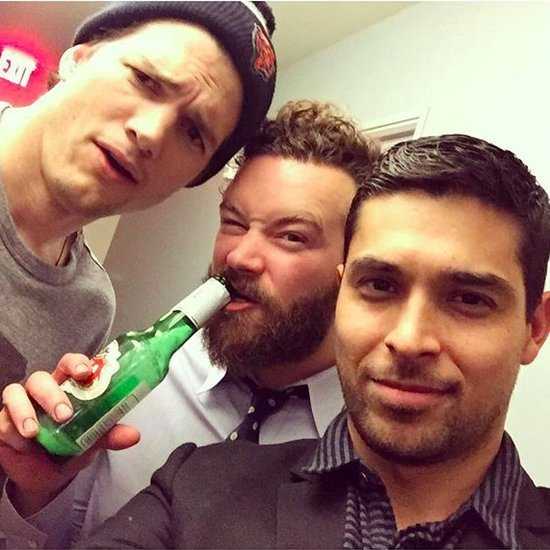 Ashton Kutcher and Wilmer Valderrama Reunite on Instagram