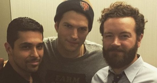 'That '70s Show' Reunion With Ashton Kutcher, Wilmer Valderrama, Danny Masterson Is All All Right