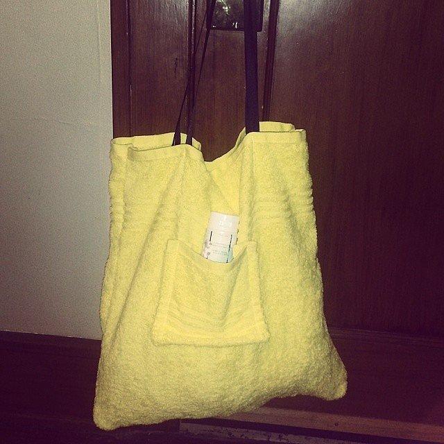 Beach Towel Tote Bag