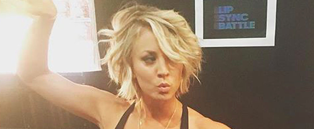 Kaley Cuoco Shows Off Her Enviable Abs in Her Latest Instagram Snap