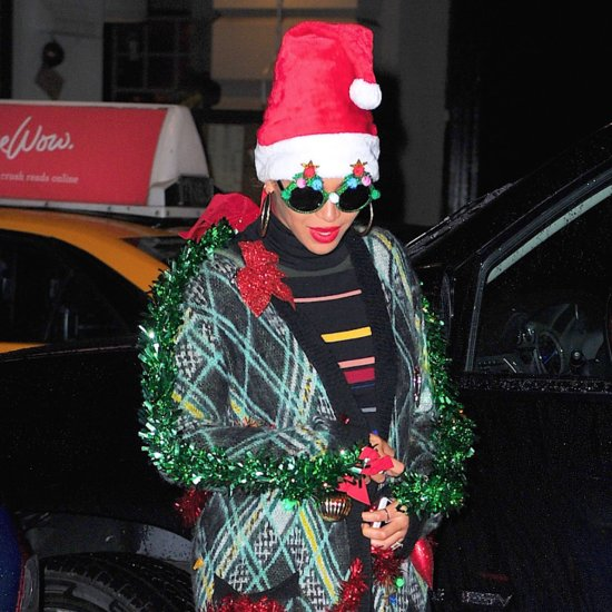 Beyonce's Ugly Christmas Jumper