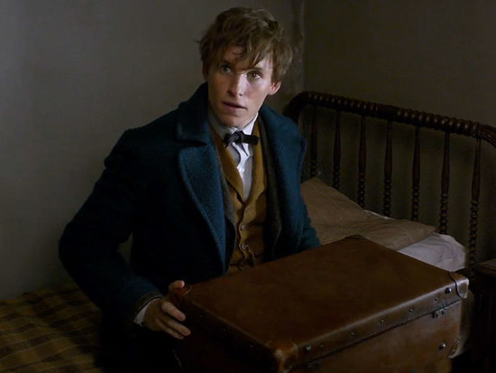 The Magic Is Back! See Eddie Redmayne Unleash His Wizardry in First Trailer for Fantastic Beasts and Where to Find Them