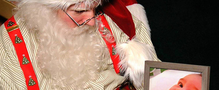 This Dad Asked Santa to Take a Photo With His Late Son, and His Response Will Break Your Heart