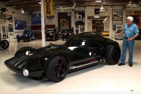 Jay Leno Drives Darth Vader's Car