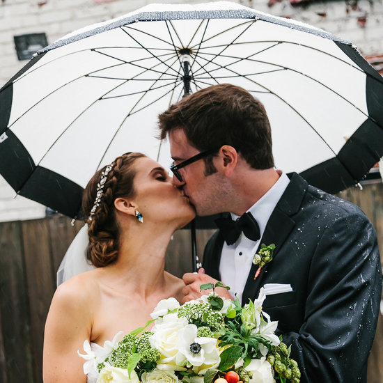 Rainy Day Wedding Pictures