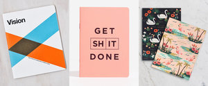 Grab a Pen: 26 Notebooks That Will Get You Motivated in 2016