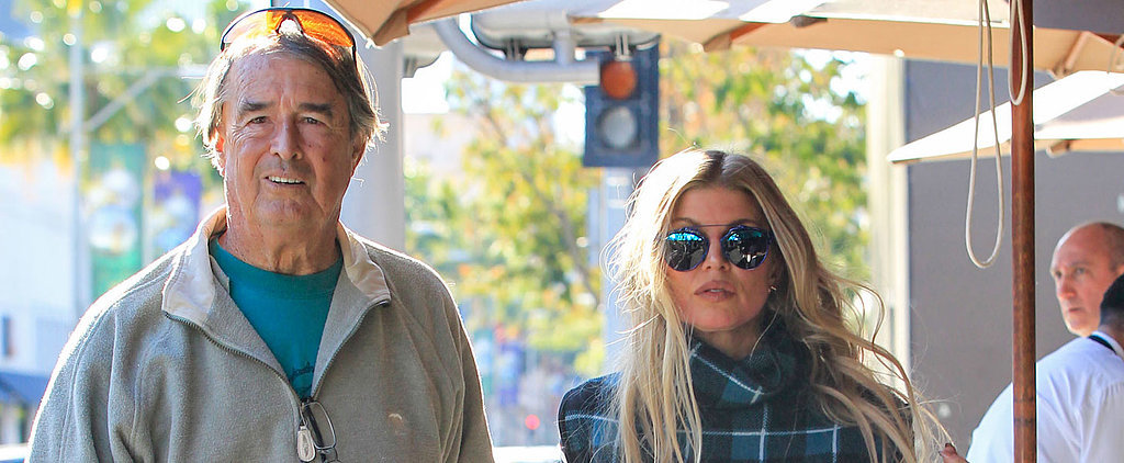 Fergie Steps Out For a Sweet Lunch Date With Her Dad