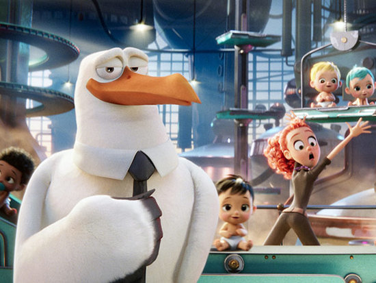 FIRST LOOK: See Andy Samberg as a Tie-Wearing Bird in Storks
