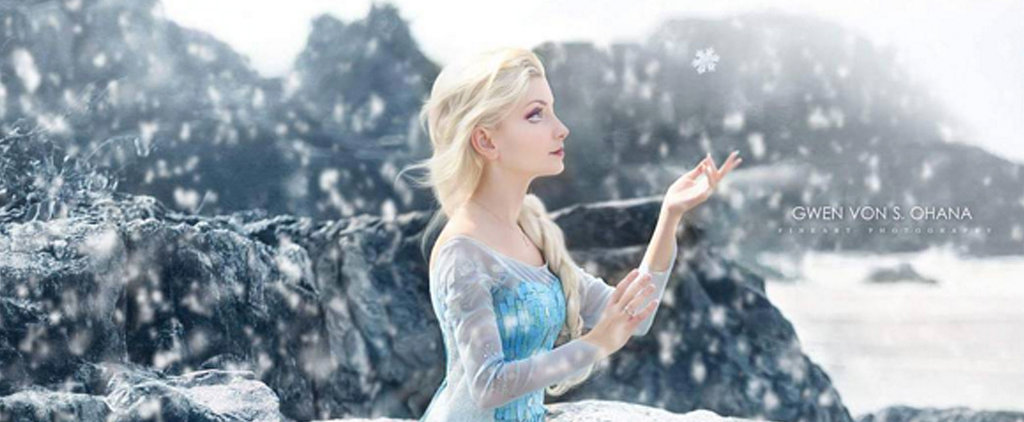 This Woman Looks EXACTLY Like Elsa Come to Life