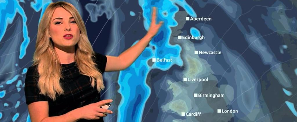 Watch This Weather Lady Epically Sneak Star Wars Puns Into Her Forecast