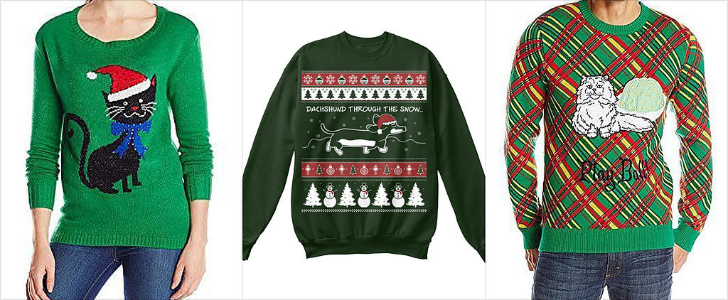 These Animal Sweaters Are the Cutest of the Ugly Christmas Sweaters