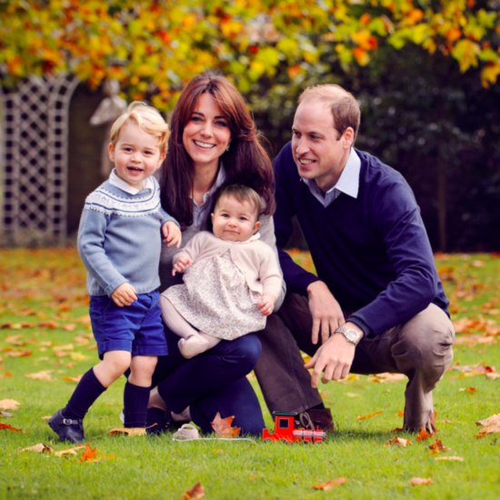 British Royal Family Portrait December 2015