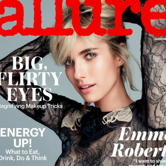 Emma Roberts Allure Cover Style