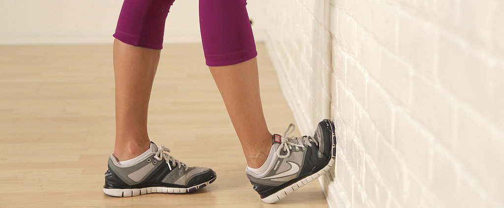 Try This Calf Stretch You Can Do Anywhere