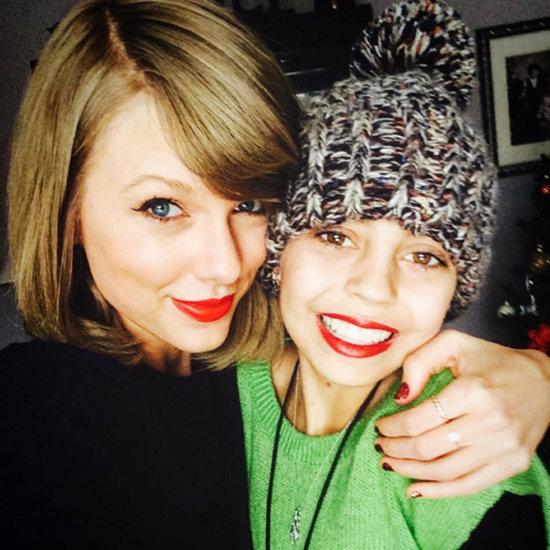 Taylor Swift Visits Cancer Patient December 2015