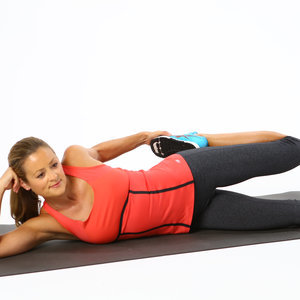 Side Lying Quad Stretch