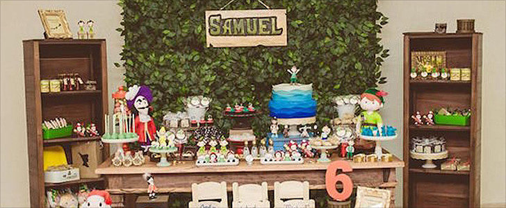 You Won't Want to Grow Up After Seeing This Peter Pan Neverland Birthday Party