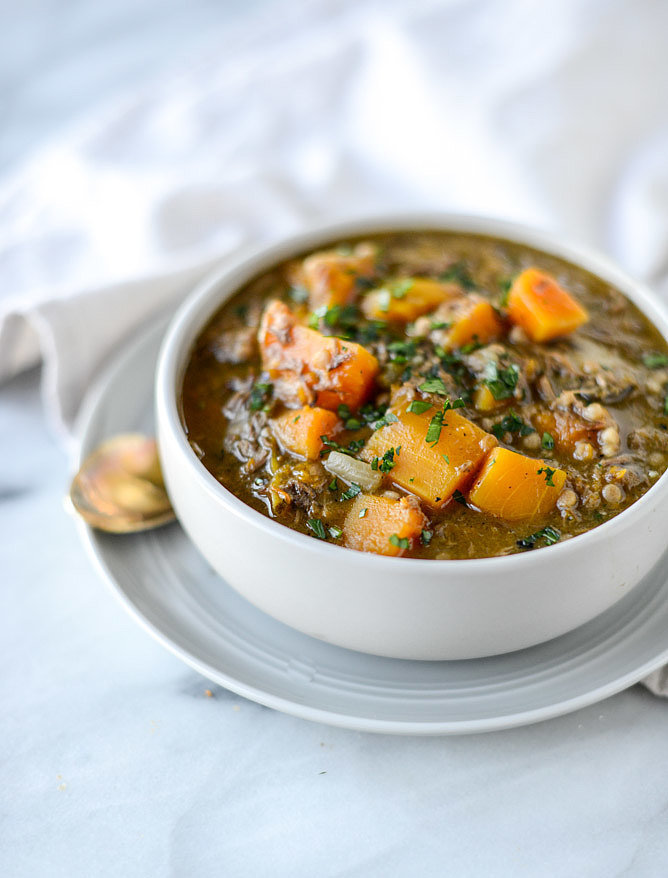 Beef and Butternut Squash Stew With Couscous
