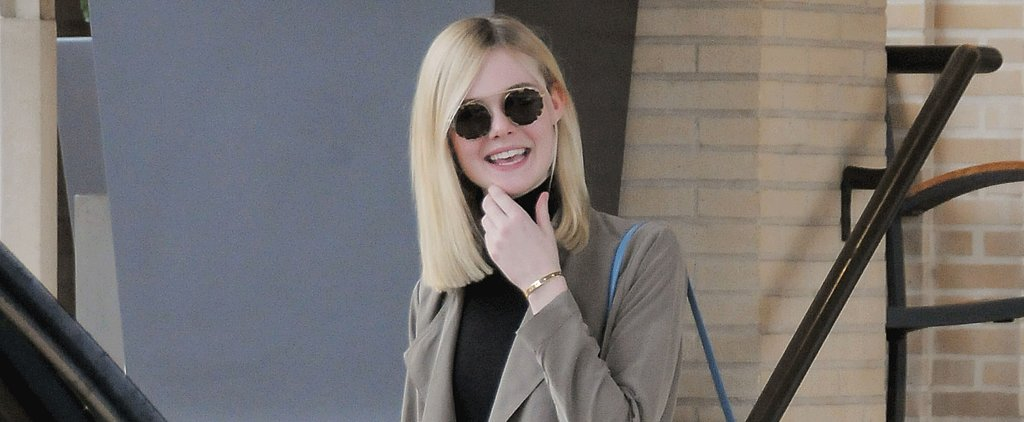 "Elle Fanning Is Carrying the It Bag You'll Instantly Want to ""Add to Cart"""