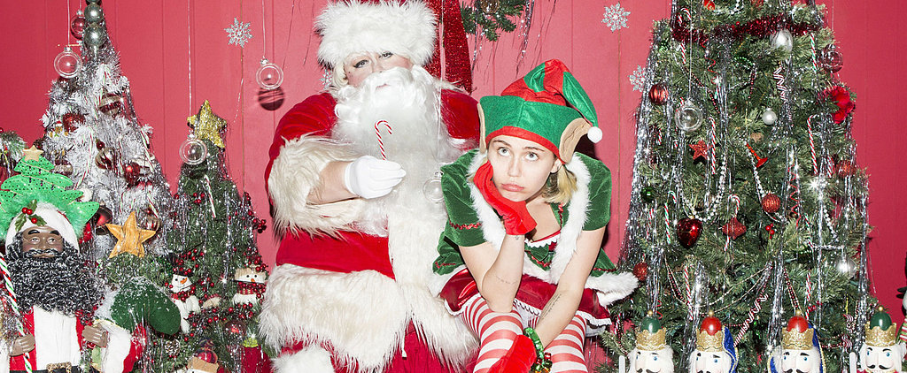 """""""My Sad Christmas Song"""" Is Miley Cyrus's Bummer of a Holiday Gift to Us All"""