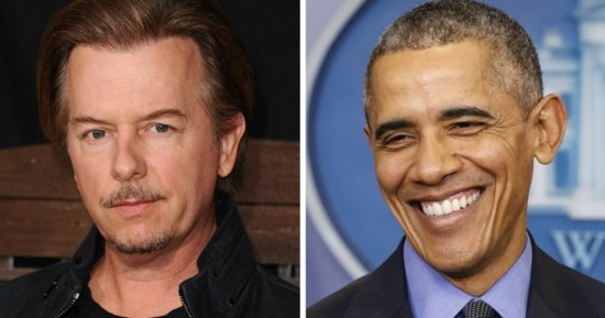 David Spade Thinks Obama Is Too 'Thirsty' For Attention