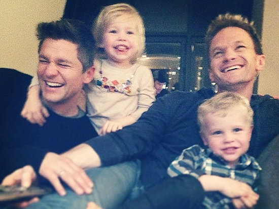 Neil Patrick Harris Gets a Spooky Surprise from His Twins on Christmas