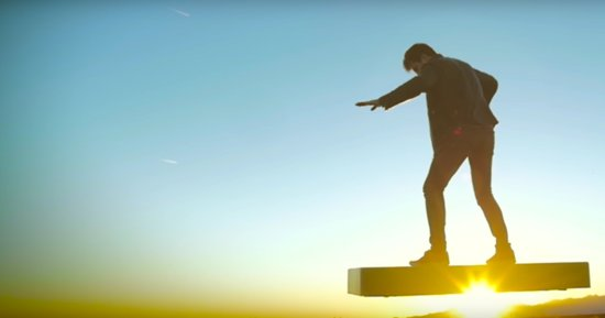 Ridiculous Ad For $20,000 Hoverboard Is A Perfect End To A Ridiculous Year