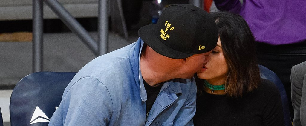 Channing Tatum and Jenna Dewan Tatum Are Already Practicing For Their New Year's Eve Kiss