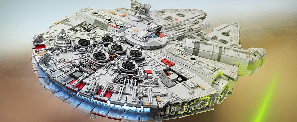 1 Star Wars Fan Spent a Year Building This INSANE Lego Millennium Falcon