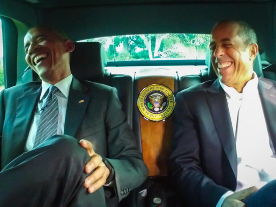 President Obama Makes His Childhood Dream Come True with Jerry Seinfeld on Comedians in Cars Getting Coffee