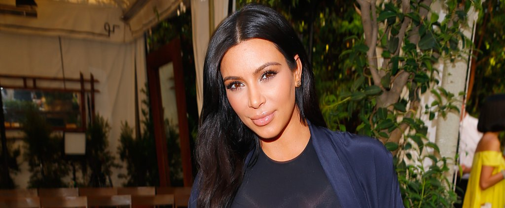 Kim Kardashian Shares a Precious Photo of North and Baby Saint