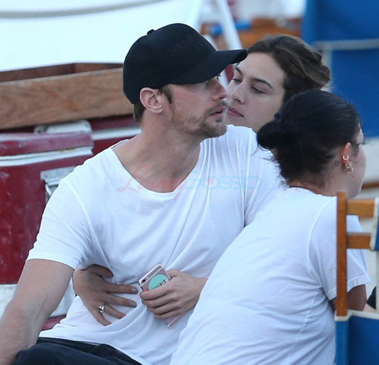 Alexander Skarsgard and Alexa Chung in Miami together for the new year