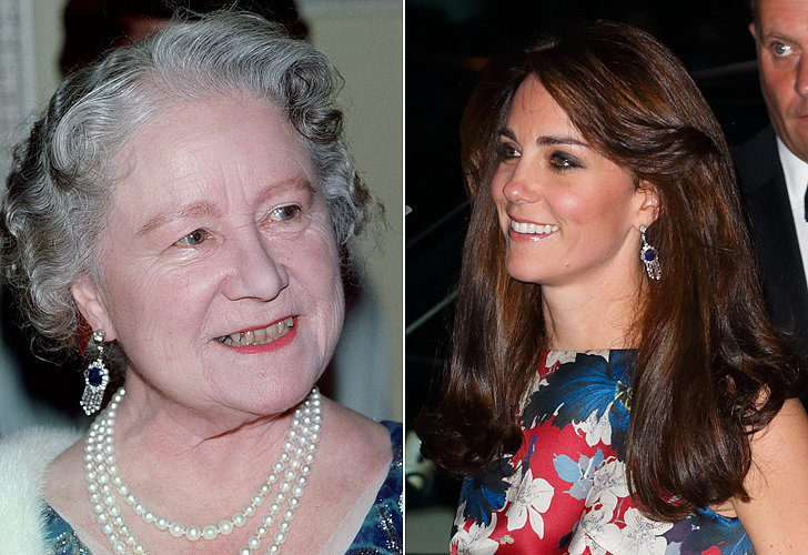 The Queen Mother's Fringe Earrings