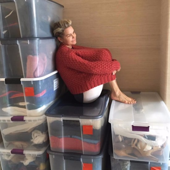 Yolanda Foster Closet Clean-Out
